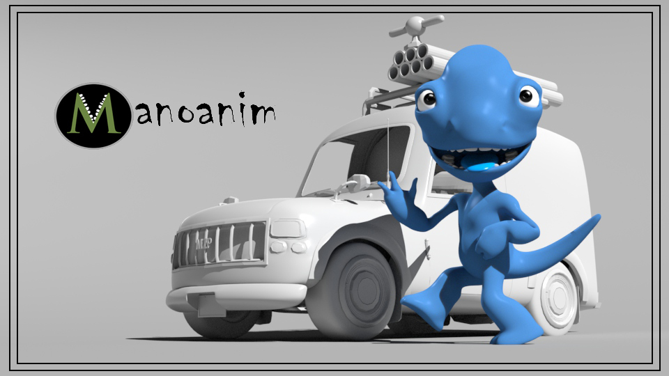 Rigging Essentials 3. Sully pose in front of car Picture 5. Promotion poses