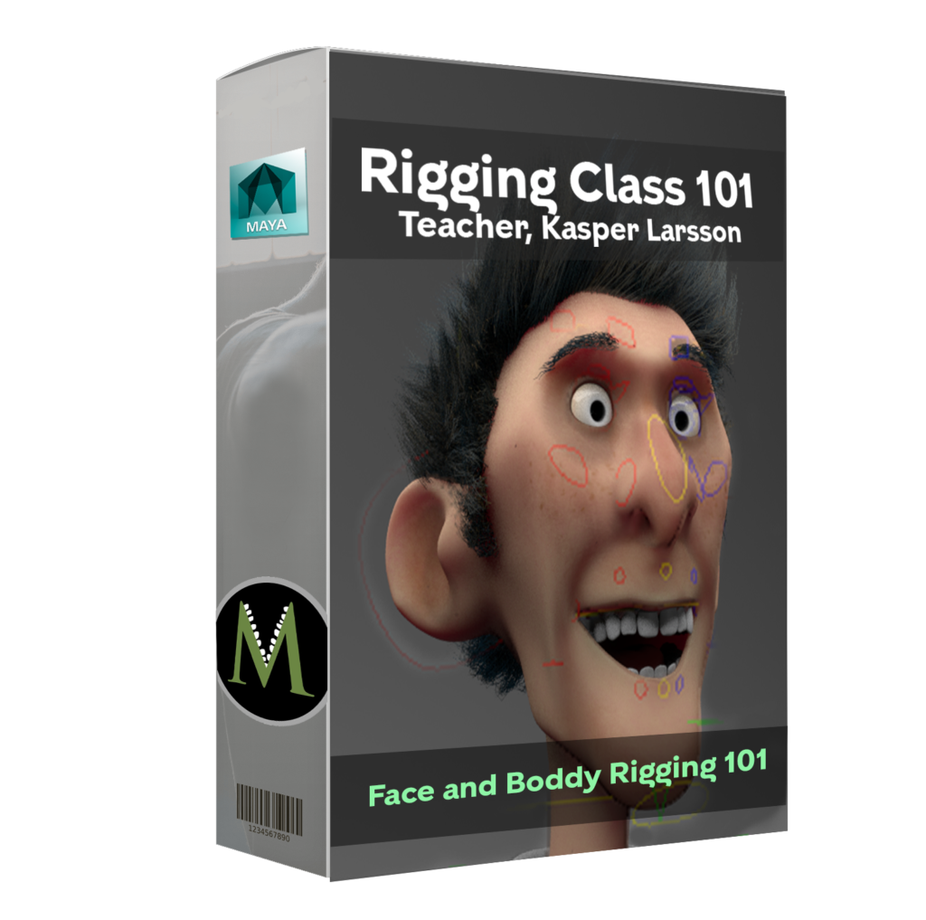 face and body rigging